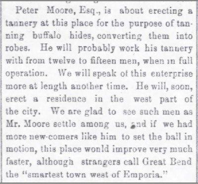 Atchinson Daily Champion Ks Oct 2 1873 Tannery