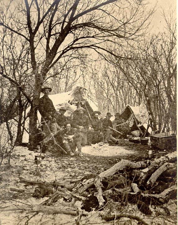 Buffalo Hunt in Taylor County, 1874 pg4