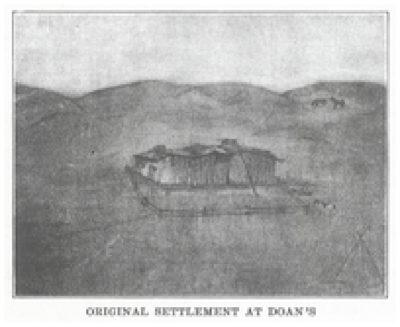 Original Settlement at Doan's Crossing