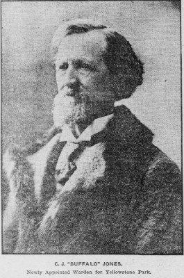CJ Jones July 27 1902 Appt to YNP