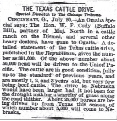 Texas Cattle Drive