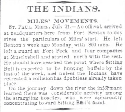 Chicago Daily Tribune July 22 1879