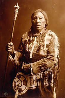 Chief Aatsista-Mahkan, c.1905