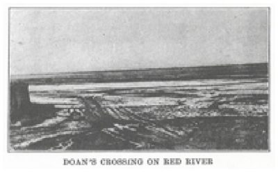 Doan Crossing on the Red River