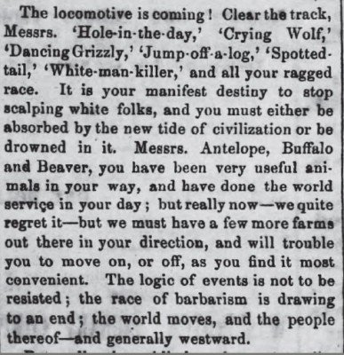 Harrisburg Telegraph, Pennsylvania Nov 7 1867