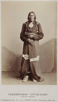 Cheyenne-Little Robe--- 1828-1886