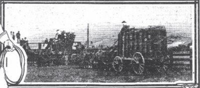 Moving a herd of Buffalo Crates Nov 4 1909 pic2