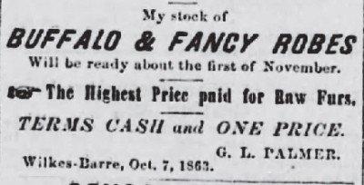 1861-1866 Pittston Gazette-Pittston, Pa.-Nov 12 1863