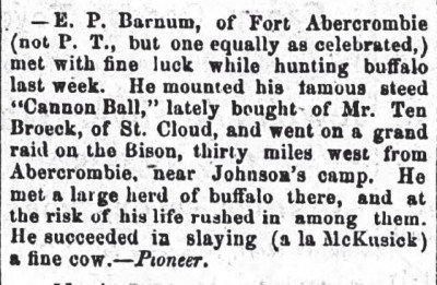 St Cloud Democrat, Minneapolis April 12 1866