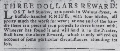 The Pa. Packet Oct 29 1778