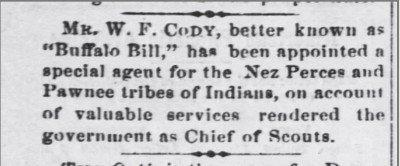 The Valley Falls New Era Kansas Dec 21 1878 bull Bill appt