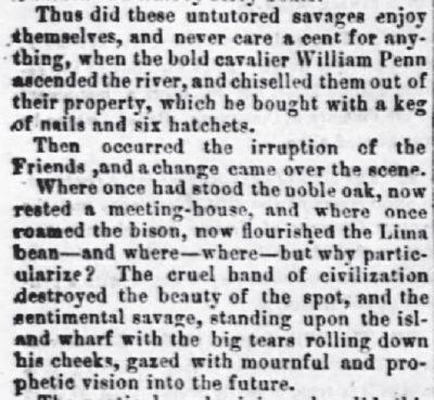 White Cloud Kansas Chief, Jun 24 1869 Many Moons Ago