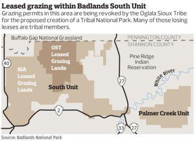 Sioux Oglala Buffalo Gap Natural Grasslands