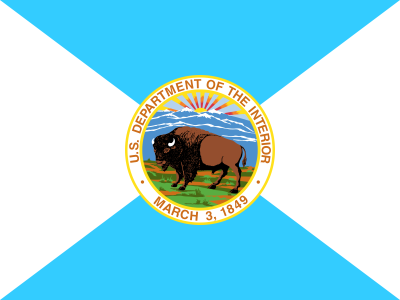 Flag of the United States Department of the Interior