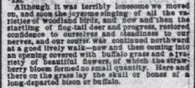 National Republican Wa. DC Jul 8 1875 Grass and Bones