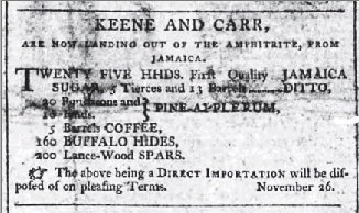 Cork Merc Nov 26 1802 hides for sale ad