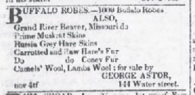 The Evening Post Dec 6 1819 1000 robes