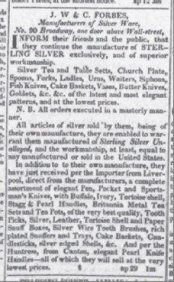 The Evening Post May 28 1819 buffalo tools