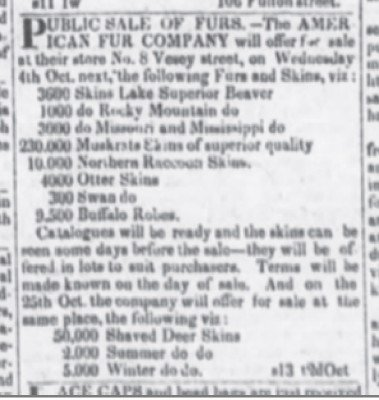 The Evening Post NY Sep 16 1826 9500 Robes