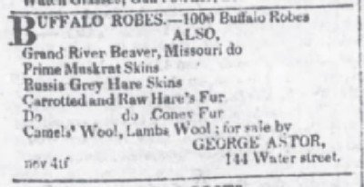 The Evening Post Nov 25 1819 1000 robes