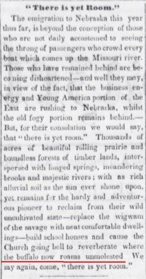 Bellevue_Gazette_Bellevue_Nebraska_May_21_1857_Come_to_NE_where_he_buffalo_are_not_molested