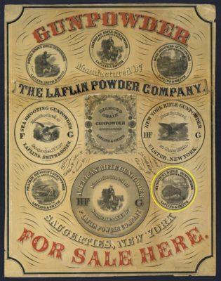 1850 Gunpowder Ad