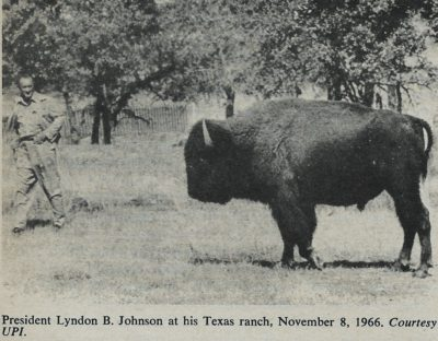 Lyndon B Johnson Texas Ranch 1966