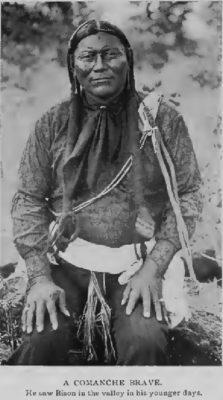 A Comanche Brave