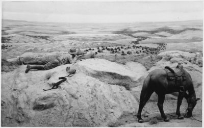 Hide Hunters Explained Buffalo Hunter Takes Aim 1880's