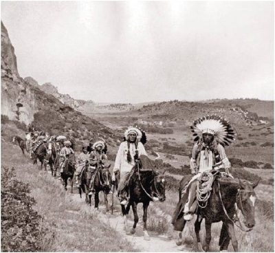 1890s on the JA Buffalo Hunt