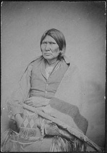 Comanche Leader Horseback c 1805_1888