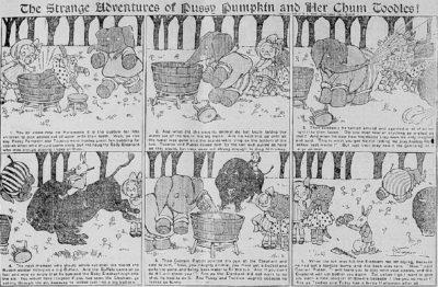 The Times Dispatch Nov 1,1903 Richmond Va Cartoon