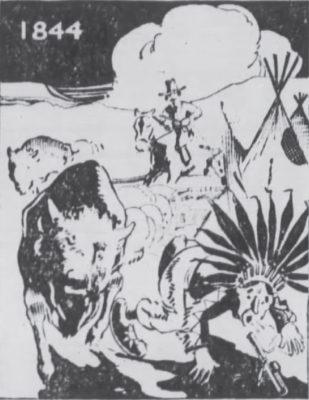 1844 Buffalo Hunting