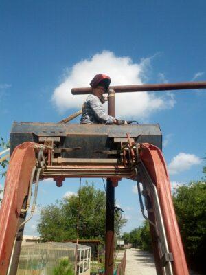 Repairing Ranch Upright