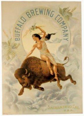 Buffalo Brewing Ad cir 1900