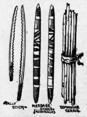Comanche Tally Sticks