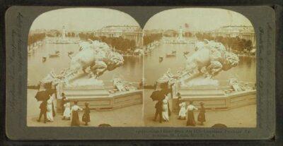 Bison sculpture 1903-1905