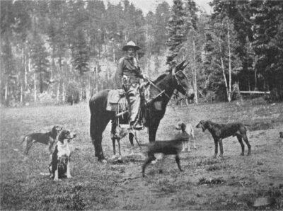 James T Owens 1929 Owner of GC herd in Kaibab